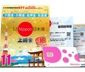 eznippon 日本通上網卡